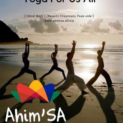 Yoga On Hout Bay Beach