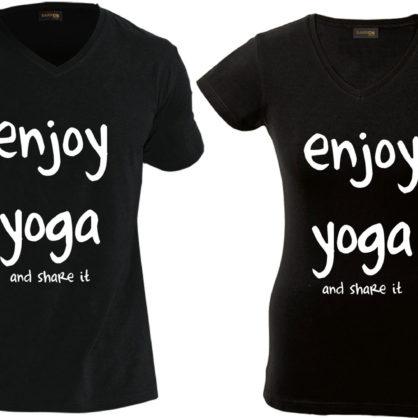 Get an Ahim'SA Yoga T-shirt